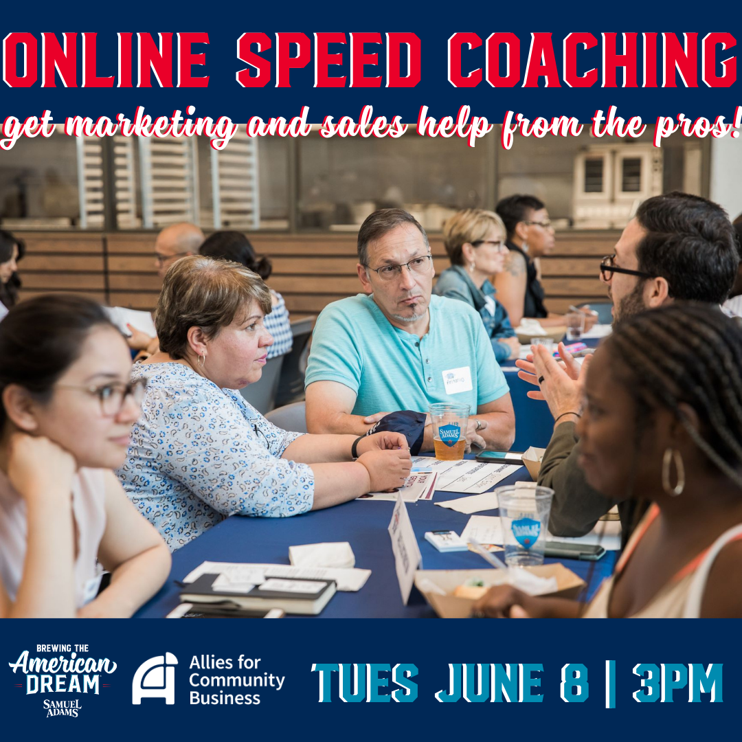 Brewing the American Dream Speed Coaching: Marketing & Sales